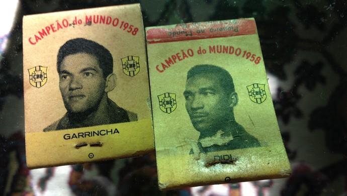 Caixas de fósforo Uberlândia coleção (Foto: Caio Nunes)