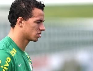 Leandro Damião treino seleção brasileira (Foto: Mowa Press)