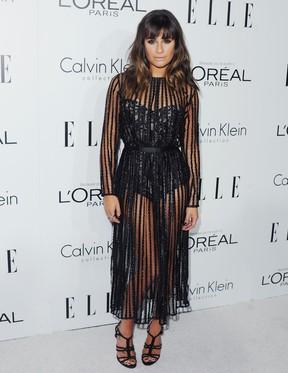 Lea Michele (foto de arquivo) (Foto: Jon Kopaloff/ FilmMagic/Agência Getty)