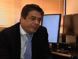 Promotor de Justiça Marcus Antônio Ferreira Alves, do Ministério Público de Goiás (Foto: Reprodução / TV Anhanguera)