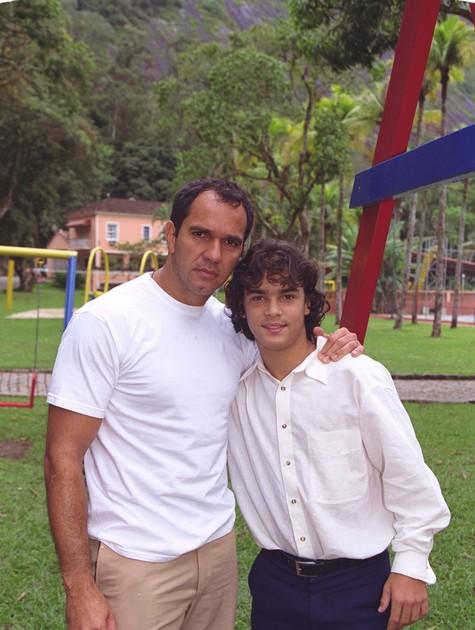 Humberto Martins e Alexandre Lemos (Foto:  Wania Corredo )