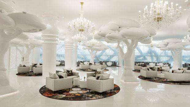 Novo hotel de luxo no Catar surpreende com visual excêntrico (Foto: Divulgação)