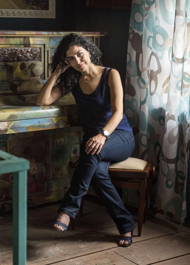 Letícia Sabatella reflete sobre o apoio mútuo entre as mulheres (Foto:  Globo/Renato Rocha Miranda)
