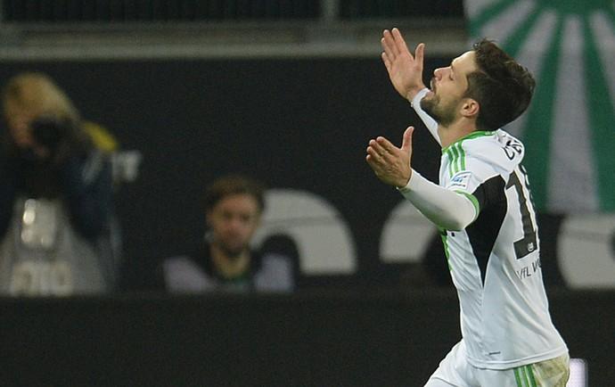 Diego gol Wolfsburg (Foto: AFP)