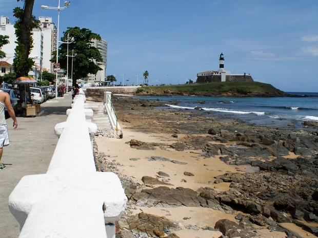 Farol da Barra em 2012 (Foto: Egi Santana/G1)