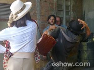 Dorothy dá soco em Cidão (Foto: Geração Brasil/ TV Globo)