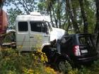 Mulher morre após colisão frontal com caminhão na BR-386 no RS
