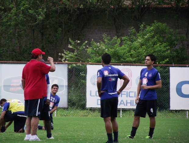 Joel Santana - treino Bahia (Foto: Divulgação / Esporte Clube Bahia)