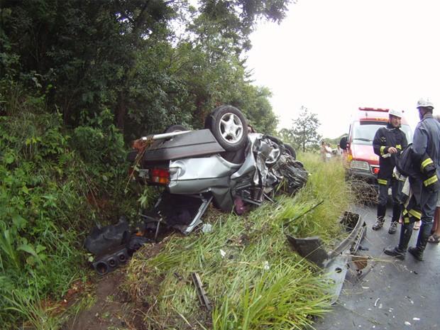 Acidente mata uma pessoa e deixa outra ferida em Aiuruoca. (Foto: Blog São Lourenço News/Jodil Duarte)