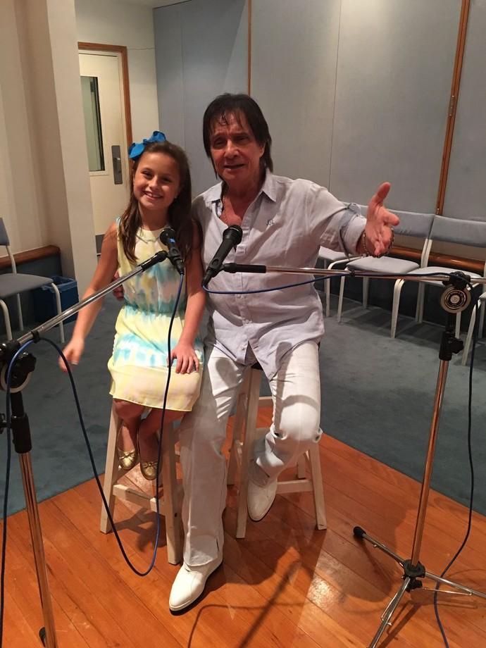 A gravação foi realizada no dia 7 de novembro, no Projac (Foto: arquivo pessoal)