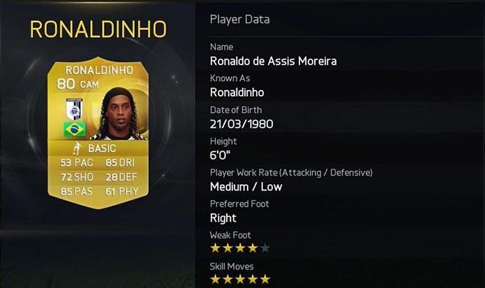9 Ronaldinho (Foto: Divulgação)