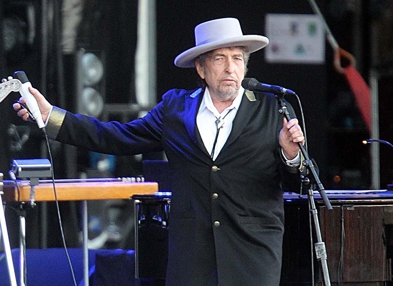 Bob Dylan lana disco triplo com covers de clssicos da msica americana (Foto: Associated Press)