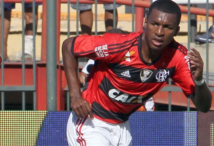 erazo Flamengo x Macaé (Foto: Tiago Ferreira/Macaé Divulgação)