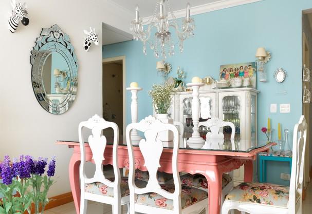 Transforme seu apê em uma linda casa de bonecas moderninha  ~ Quarto Rosa Goiaba
