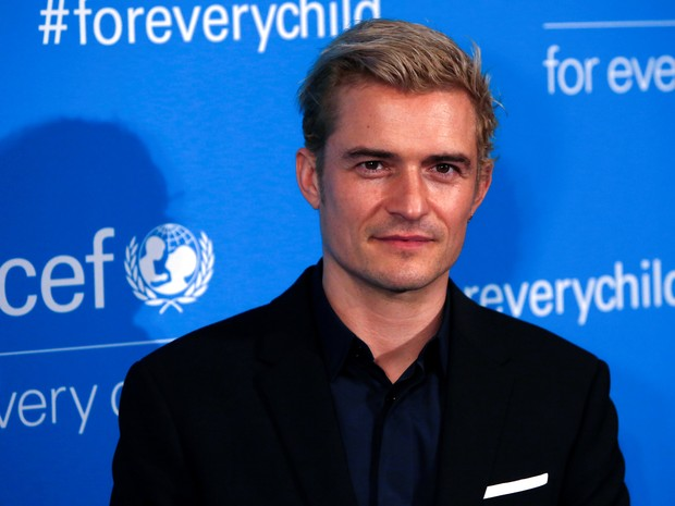 Orlando Bloom em evento em Nova York, nos Estados Unidos (Foto: Andrew Kelly/ Reuters)
