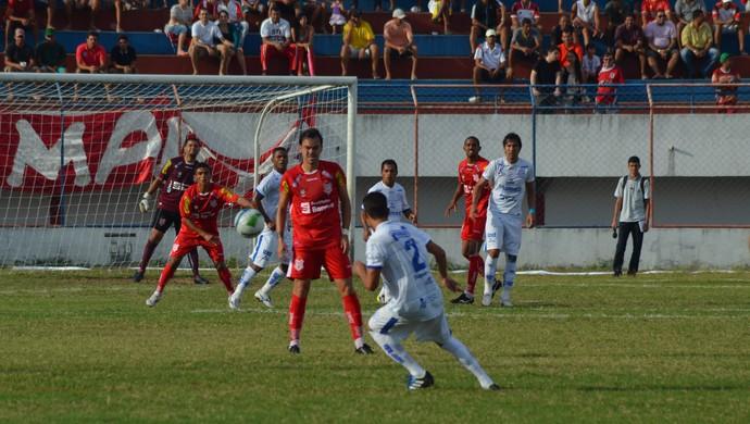 Confiança venceu o Sergipe por 3 a 1 (Foto: Felipe Martins / GloboEsporte.com)