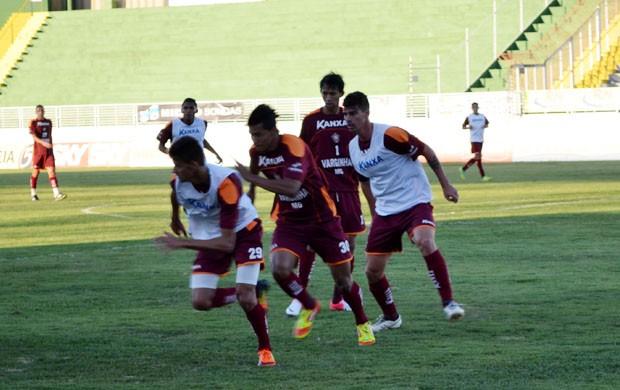 Boa Esporte busca vitória na Série B (Foto: Tiago Campos / Globoesporte.com)