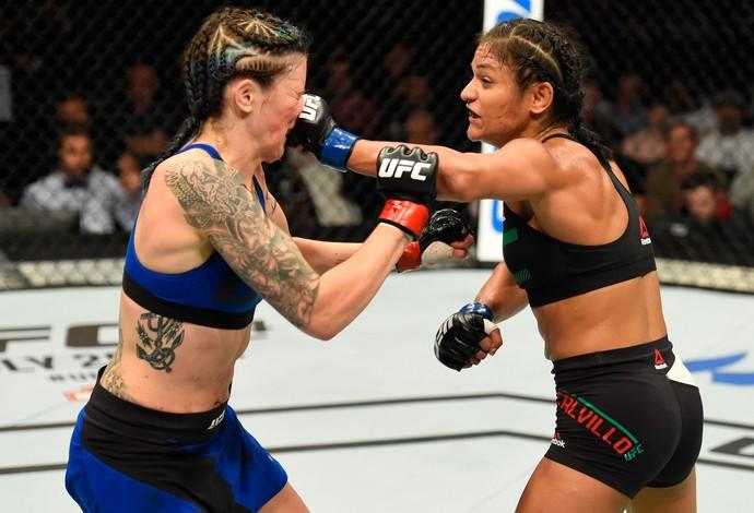 Cynthia Calvillo Joanne Calderwood UFC Escócia (Foto: Getty Images)
