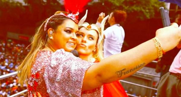 Carolina Dieckmann e Preta Gil (Foto: Reprodução/Instagram)