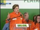 Após participar de inauguração da P-58, Dilma deixa o Rio Grande do Sul