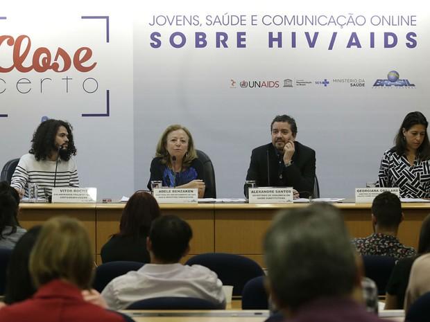 Coletiva de lançamento da campanha Close Certo (Foto: Erasmo Salomão/ Divulgação)