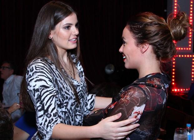 Camila Queiroz e Juliane Araújo (Foto: Anderson Borde/Agnews)