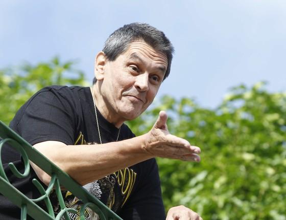 Roberto Jefferson aguardava em casa, no domingo, os policiais federais cumprirem o mandado de prisão (Foto: Pablo Jacob/Agência O Globo)
