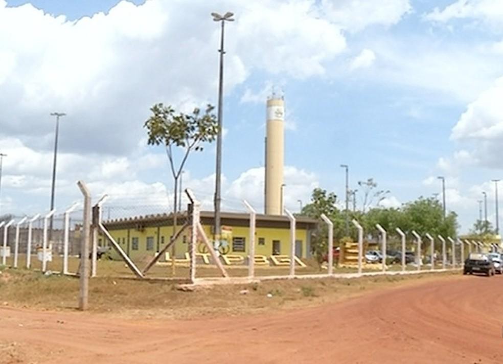 Presídio Barra da Grota, em Araguaína (Foto: Reprodução/TV Anhanguera)