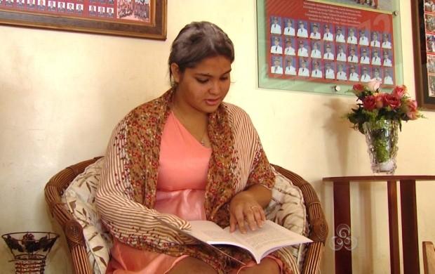 Alunos leram livros e interpretaram peças (Foto: Roraima TV)