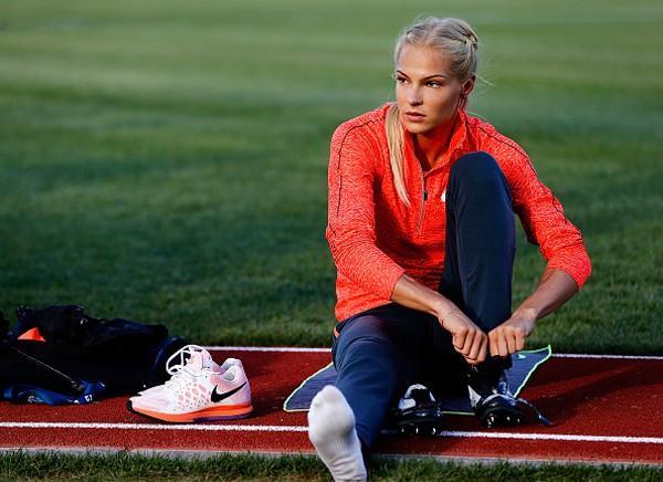 A russa Darya Klishina (Foto: Getty Images)