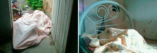 Corpos de irmãos gêmeos foram encontrados dentro de casa, na comunidade de Cajazeiras, zona rural de Macaíba (Foto: Larisse Souza/G1)