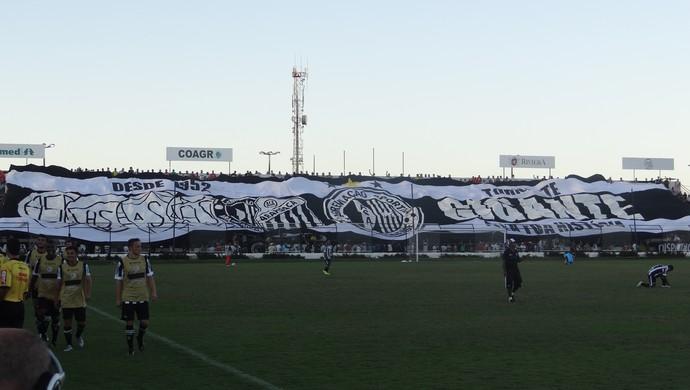 ASA bandeirão (Foto: Leonardo Freire/GloboEsporte.com)