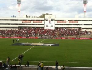 Vila Capanema, estádio do Paraná Clube (Foto: Fernando Freire/GLOBOESPORTE.COM)