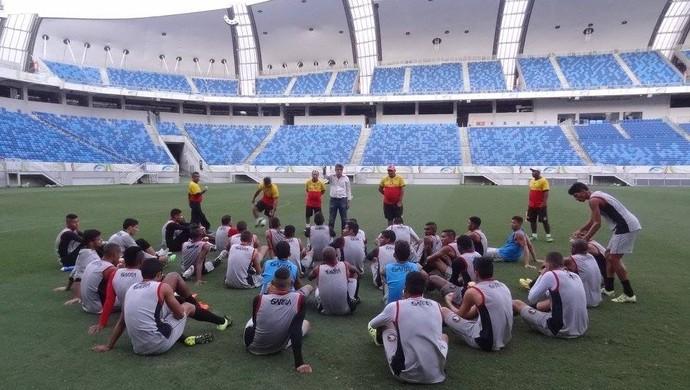 RN - Globo FC Arena das Dunas (Foto: Divulgação/Globo FC)
