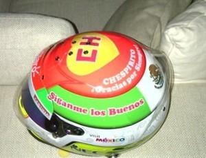Capacete do Chapolin (Foto: Reprodução/Facebook Sergio Pérez)