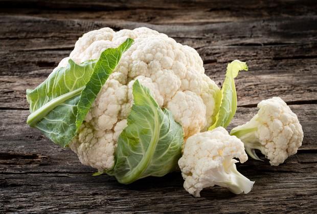 A couve-flor é uma excelente fonte de vitamina C e cálcio (Foto: Thinkstock)