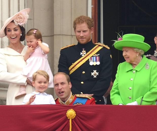 Príncipe William e Príncipe George (Foto: Reprodução)
