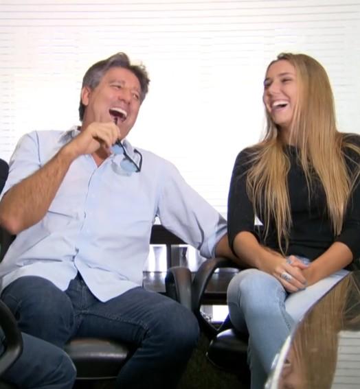 renato promete peruca para régis rösing (Reprodução TV Globo)