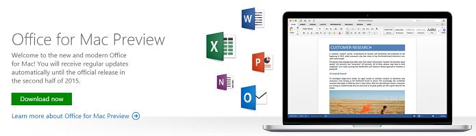 Mac OS ganhou versão de testes do Office (Foto: Reprodução/Thiago Barros)
