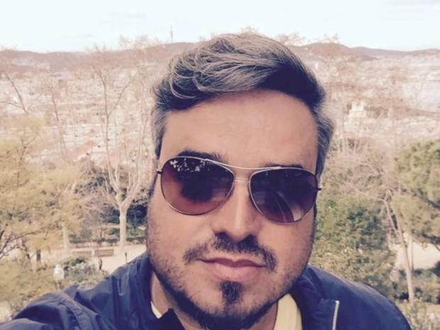 O empresário Gustavo Bandeira, de 39 anos, ficou sem acesso a suas contas pela internet (Foto: Arquivo pessoal)