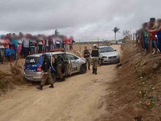Suspeitos foram mortos durante tiroteio, diz Polícia Militar (Foto: Divulgação/Polícia Militar)