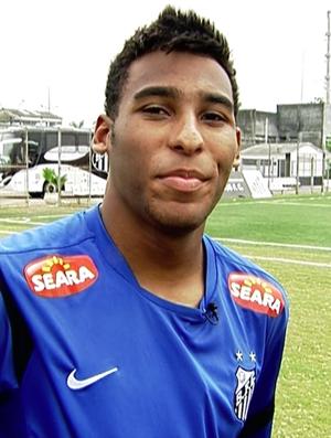 Joshua, filho do Pelé (Foto: Reprodução SporTV)