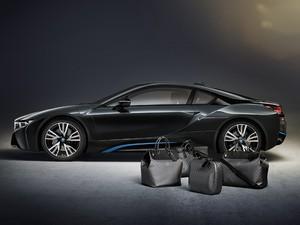 Bolsas Louis Vuitton criadas para o BMW i8 (Foto: Divulgação)