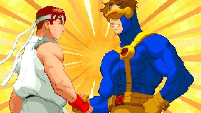Street Fighter já enfrentou muitas séries diferentes em seus crossovers (Foto: Reprodução/GamesRadar)