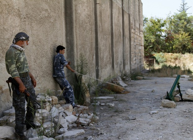 Free Syrian Army (Foto: Nour Kelze/Reuters)