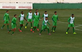 Guarani testa time em formação em jogos contra Desportivo e Palmeiras