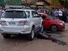 Motorista de caminhonete é executado a tiros no Centro de Ponta Porã, MS