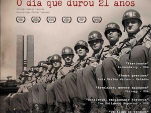 """Cartaz do filme """"O dia que durou 21 anos"""" (Foto: Reprodução)"""