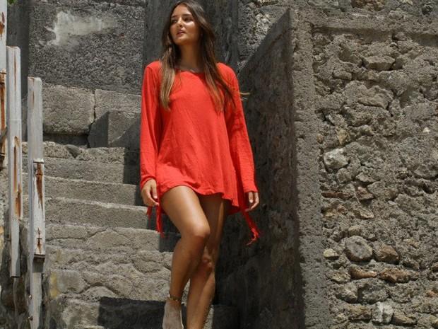 Catarina Migliorini, que fez leilão de sua virgindade, deve vir ao Brasil no início de novembro (Foto: Arquivo Pessoal)