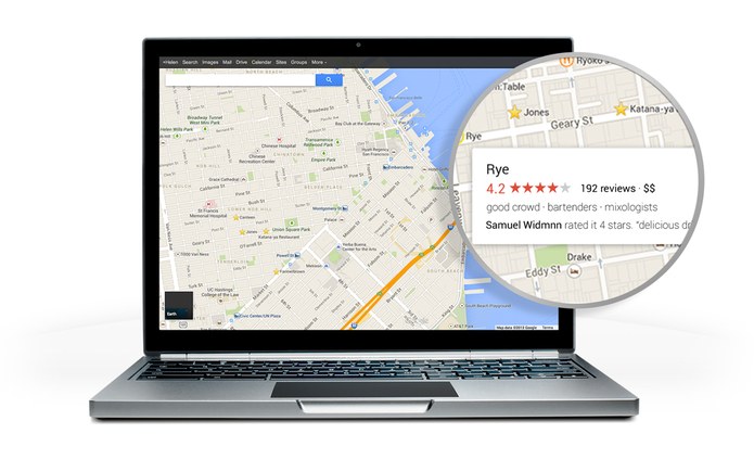 Novo Google Maps, versão Preview (Foto: Reprodução/Google)